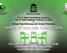 """The3rdEAGT International Conference""""HOPE, ACTION AND CONNECTION"""""""